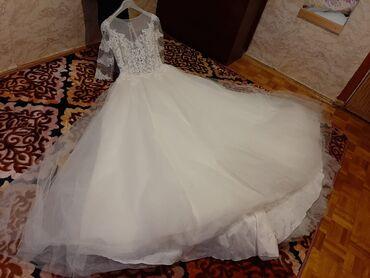 Продаю свадебное платье размер 42-44 нежное в отличном состоянии одев