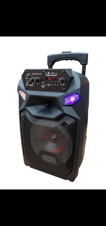 Audio - Azərbaycan: Mikrafonlu bluetooth dinamik kalonka Original Karaoke bluetooth