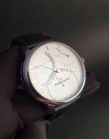 Черные Мужские Наручные часы Maurice Lacroix