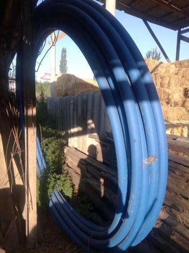 Труба пэт пищевая для воды. 100 м d63 8000 в Бишкек