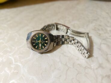 omax 200 - Azərbaycan: 80 ci illərin OMAX orijinalantik,mexanik qadın saatı