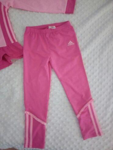 Adidas trenerka gornji deo - Srbija: Adidas trenerka original decija gornji deo nosen donji nije