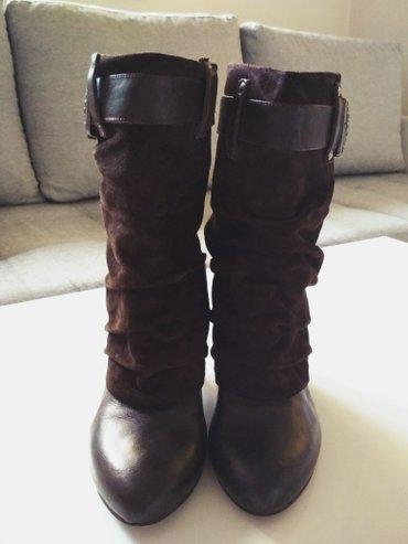 Miss sixty, originalne kozne cizme, nosene bukvalno 2 puta, kupljene u - Novi Sad