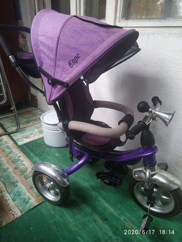 велосипед с детской коляской в Кыргызстан: Продается б/у велосипед+коляска два в одном. Состояние отличное пользо