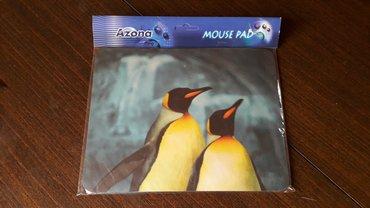 PODLOGA ZA MIŠA  Foto pingvini. Novo