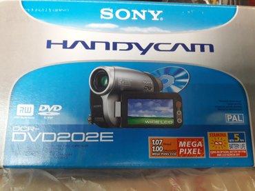 Видеокамера sony dcr-dvd 202е в Бишкек