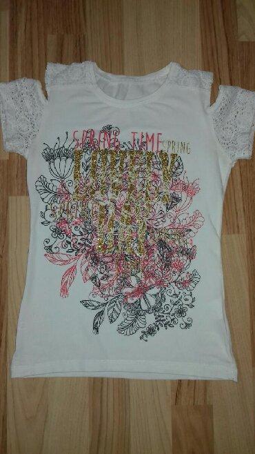 Majica goa - Srbija: Prelepa majca,gola ramena. Bez ikakvih ostecenja. Velicina 10