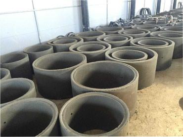 Бетонные жби кольца, крышки, люки с доставкой в Бишкек