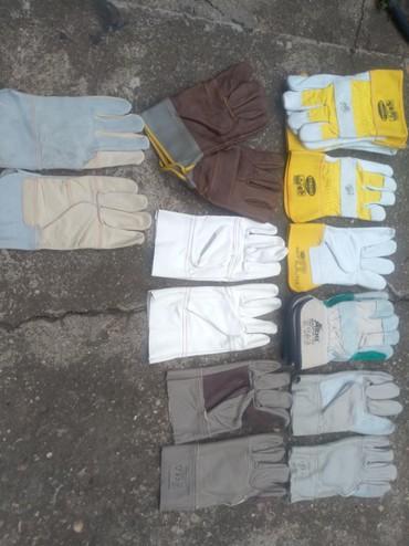 Ostalo | Zrenjanin: Radne zastitne rukavice HTZ izradjene od kvalitetne govedje koze. Sla