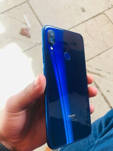 Электроника - Гюргян: Новый Xiaomi Redmi Note 7 64 ГБ Черный