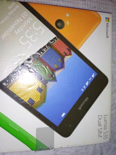 Bakı şəhərində ekrani salamatdi.procesoru qizir. lumia 535