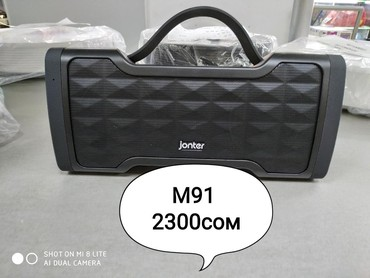 Колонки с блютузом Jonter M91 Цена:2300сом в Бишкек