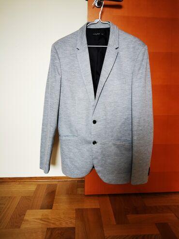 Zara farmerke - Srbija: Muski sako Zara, sportska elegancija, moze se kombinovati uz farmerke