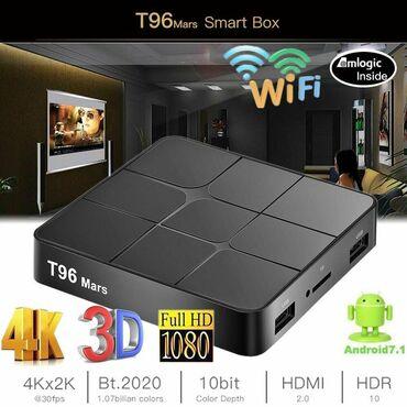 android tv box - Azərbaycan: Tv box T96 Mars Android smart tv box ip Original Android smart tv box