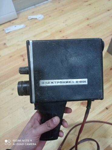 Video Kamera.1982 çi il istehsalı.hobbisi qədim əşyalar olan insanlar