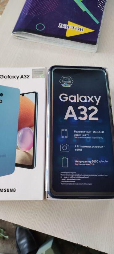 265 elan: Samsung Galaxy A32 | 64 GB | Göy | Zəmanət, Sensor, Barmaq izi