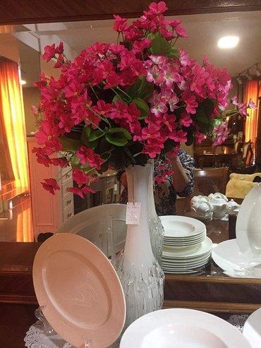 Вазочка итальянская +интерьерные полевые цветочки-6900 в Бишкек