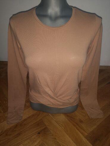 Majica xs - Srbija: Majica Zara, sa ukrstenim delom napred, velicina xs - s