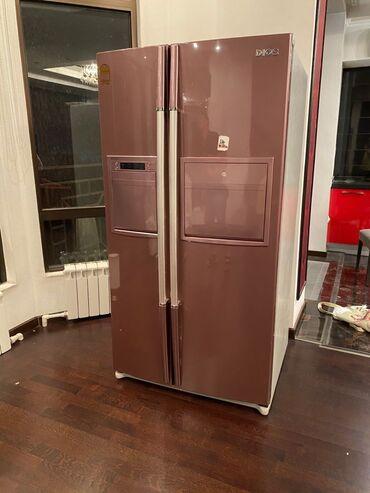 продаю холодильник бу in Кыргызстан   ХОЛОДИЛЬНИКИ: Новый Двухкамерный   Коричневый холодильник