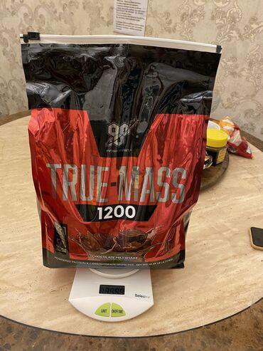 Гейнер true-mass 1200 4.7 кг Б/У, осталось 3,55 кг Раньше занимался, с