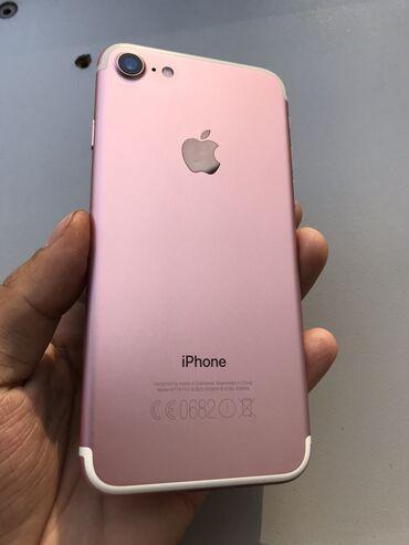 iphone бу цена в Кыргызстан: Б/У iPhone 7 128 ГБ Розовое золото (Rose Gold)