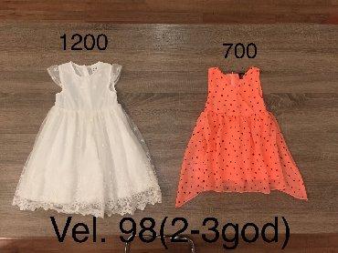Decije haljine - Indija: Vel.98 )2-3god) Nova svecana haljina za devojcice