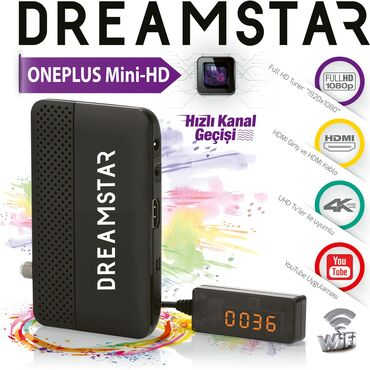 one plus one - Azərbaycan: Dreamstar One Plus Mini-HD tüneri ( tüner, tuner, receiver, resiver