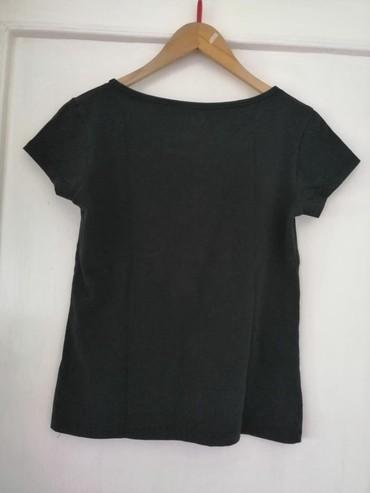 Crna pamučna majica Veličina XL - Obrenovac