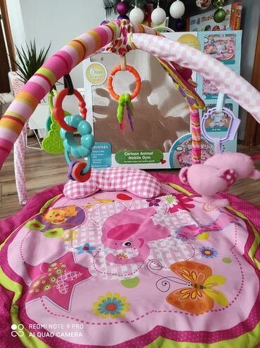 Baby gimnastika beba u opste nije htela da koristi placena 4500 bez