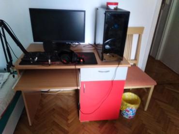 Asus v75 - Srbija: Radni sto. Dimenzije V75, Š60, D105. Sto je dobar i bez oštećenja