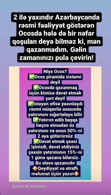 10 elan | İŞ: Şəbəkə marketinqi