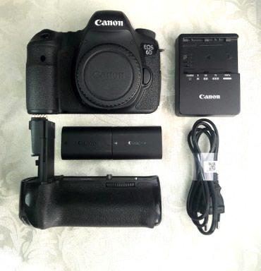 Фото и видеокамеры - Кок-Ой: Canon 6D тушка с батарейный блоком и зарядкой. в аренду не давал