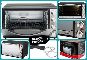 Elektronika - Pozarevac: Velika Crna Rerna Sa Grilom- Crni Petak AkcijaSamo 6500