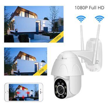Tv led - Srbija: IP WiFi PTZ kamera spoljna vodootporna 1080P dve antene  Novi Model IP
