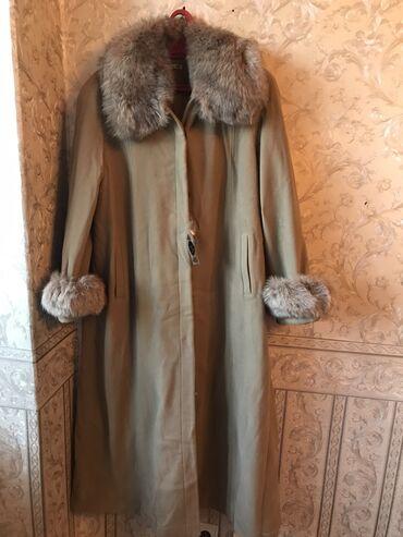 женское платье 54 в Кыргызстан: Абсолютно новое женское пальто с этикеткой 52-54 размер. Со съёмным