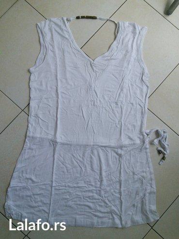 Rasprodaja! Bela haljina-tunika za plažu, potpuno nova. Veličina je - Crvenka