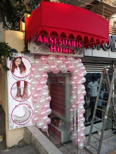 Bakı şəhərində Reklam isleri
