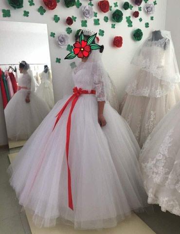 Акция! Свадебное платье на прокат 3000 в Токмак