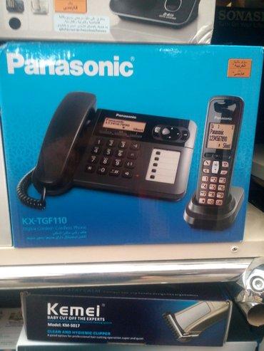 """Bakı şəhərində Stasional telefon """"panasonik"""" kx-tgf110 ,teze,catdirma var"""