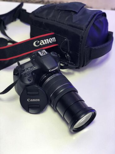 obyektiv - Azərbaycan: Canon 60D ideal veziyyetdedir. EFS18-200mm obyektiv ustunde