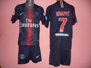 Fudbalski dresovi - Srbija: MBAPPE. Fudbalski dresovi za decu. Cena je 1200 dinara. Veličine