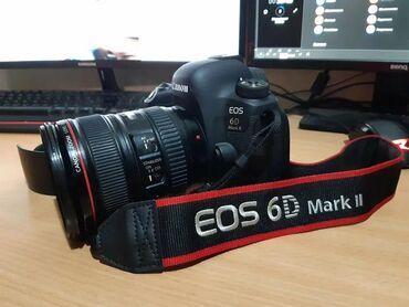 canon-mark-2-5d-цена в Кыргызстан: Canon 6D mark 2 Сатылат комплект 24 105 аккумулятор 4 штук зарядник Аб
