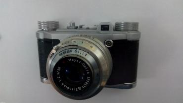 Izvanredno očuvan nemački fotoaparat, altix + meyer optik trioplan 2. - Beograd