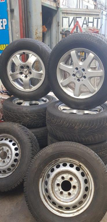 Диски на Mercedes Benz ML R17 Адрес: Р-к Дордой Моторс в Бишкек