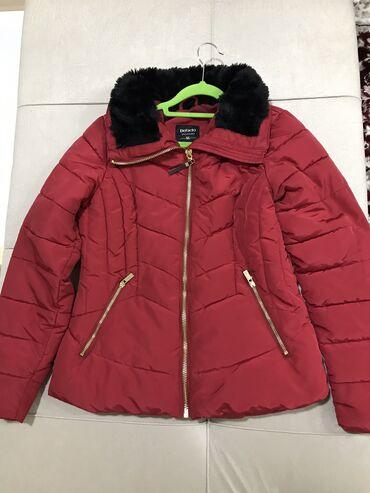 бренд офисные платье в Кыргызстан: Куртка Еврозима в отличном состоянии,надевалась только 1раз . Defact