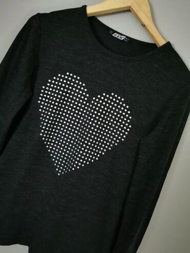 Sivi broj - Srbija: Polovna tamno siva majica Brenda G&N U odlicnom stanju i bez