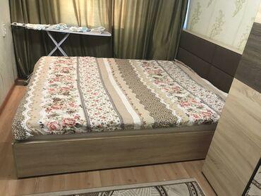 Двуспальные кровати - Кыргызстан: 2х спальный кровать(не пользуемся) Матрац ортопедический Все в идеальн