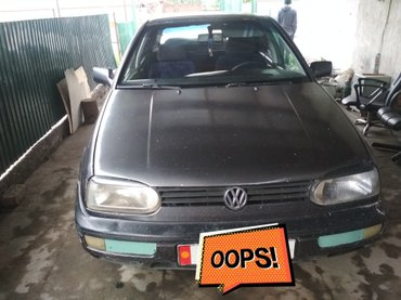 Volkswagen Golf 1992 в Бишкек