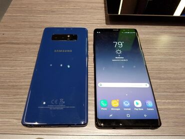 Б/у Samsung Galaxy Note 8 64 ГБ Синий
