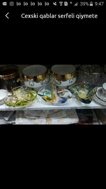 Qab-qacaq dəstləri Azərbaycanda: Cehski qablar serfeli qiymete